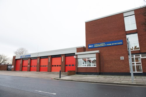 Wallasey Community Fire Station