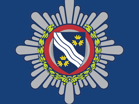 Badge On Navy